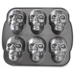 Nordic Ware Haunted Skull Cakelet Pan